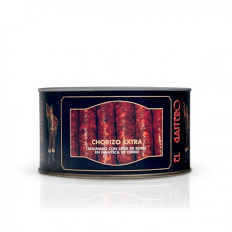 Chorizo extra en manteca de cerdo