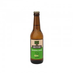 GAITERO SPANISH CIDER SIN alcohol
