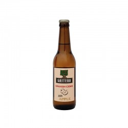 GAITERO SPANISH CIDER 100% APPLE